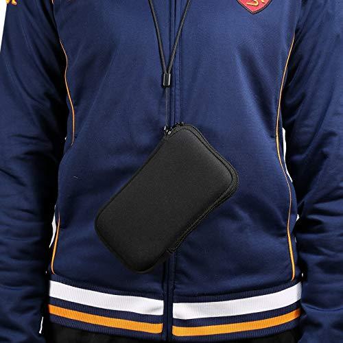 Funda del teléfono celular Manga de teléfono de neopreno, bolso móvil de la manga de la bolsa de células universales de 6.1 pulgadas con cremallera for Samsung Galaxy S20 5G, S20, S10, S9, S8, Nota10,
