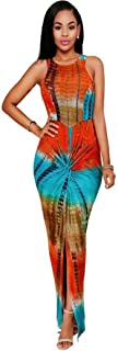 Women Girls Fashion Tops GoodLock Lady Female Digital Printing Bodycon Sleeveless Simp Party Cocktail Dress