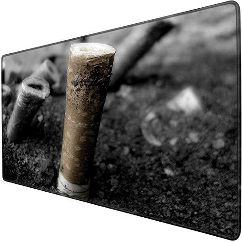 IKAEASD Material Oficina Cigarrillo Blanco Negro Arcilla