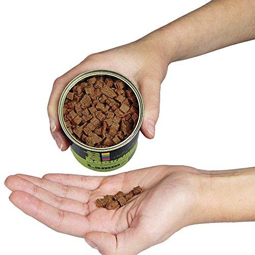 Schecker DOGTRAINERS Lamm PUR 3 x 160g getreidefrei glutenfrei als Barf-Ergänzung geeignet 100% Lamm Single Protein
