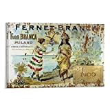 Fernet Branca Old Sign - 6 pósteres decorativos para pared (20 x 30 cm)