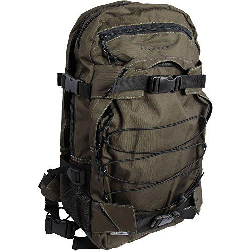 FORVERT Unisex Bag Laptop Louis sportlich-lässiger Laptoprucksack mit durchdachter Ausstattung und Boardcatcher, grün (Dark Olive)
