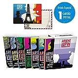 Lupin II - Box com 7 livros com cartão postal