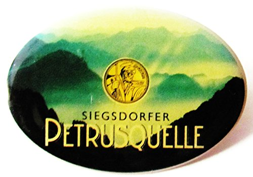 Siegsdorfer Petrusquelle - Pin 36 x 15 mm