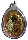 Amulet Butterfly Salika Kruba Krissana Véritable amulette e Thaïlande, Pendentif...