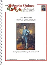 Scarlet Quince GAI001 The Blue Boy by Thomas Gainsborough Counted Cross Stitch Chart, Regular Size Symbols