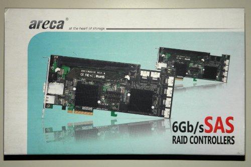 Price comparison product image Areca ARC-1880ix-16 RAID Controller Raid Controller (SAS,  SATA,  PCI Express x8,  Full-Height,  1024 MB,  DDR2