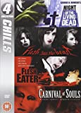4 Collection - Chills: Night of the Living Dead; Flesh for the Beast; Flesh Eater; Carnival of Souls [DVD]
