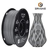 Filament PETG 1,75 mm Grau, ERYONE PETG Filament Für 3D-Drucker und 3D-Stift, 1 kg 1 Spool