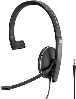 【国内正規品】EPOS | SENNHEISER 3.5mmジャック接続 片耳 ヘッドセット SC 135 Skype for Business認定取得製品