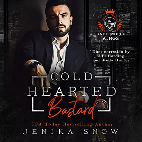 Coldhearted Bastard Audiobook By Jenika Snow cover art