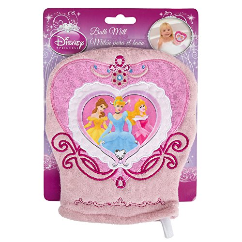 Disney Bath Mitt, Pink Princess