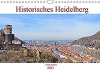 Historisches Heidelberg (Wandkalender 2022 DIN A4 quer): Der Kalender zeigt das historische Heidelberg von seinen eindrucksvollsten und seinen schoensten Seiten. (Monatskalender, 14 Seiten )