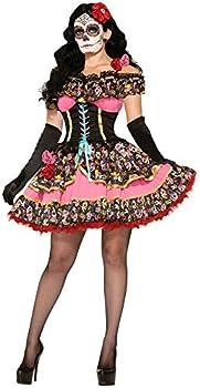 Forum Novelties unisex adult Costume Day Of Dead Senorita Xs S Deluxe X-Small Small US