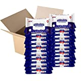 Germisept Antibacterial Hand Sanitizing Wipes Bulk Buy 24 Packs of 50 Count = 1200 Wipes