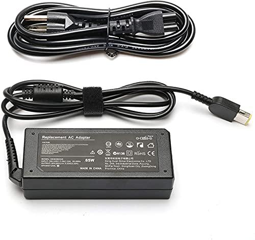 65W Portátil Cargador, ANTIEE 20V 3.25A EU Fuente de Alimentación Adaptador para Lenovo Thinkpad E440 E450 E550 E560 T430 T440 T440S T440P T450 T460 T460S T540P T560 G50 Yoga 2 S1 13 11S Z505 Z580