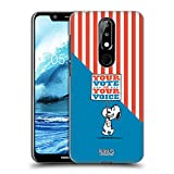 Head Case Designs sous Licence Officielle Peanuts Plaque de Snoopy Votre Vote est Votre Voix Coque...