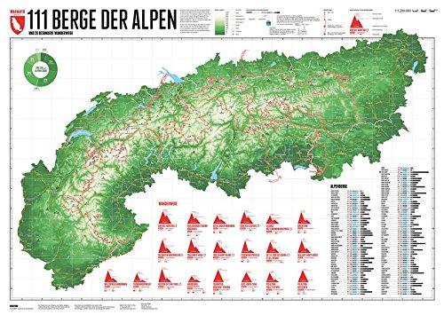 111 Alpenberge: und 20 besondere Wanderwege
