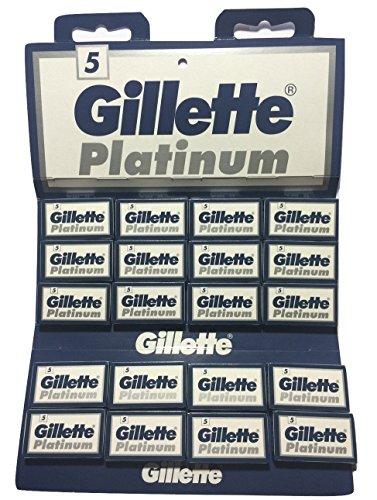 100 Gillẹtte Platinum Rasierklingen