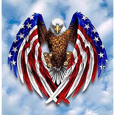 Amazon Promo Code for Flag Eagle DIY 5D Diamond Painting Kits for 01102021073003