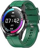 RCH Smartwatch da uomo Bluetooth Call Smartwatch iOS Custom Dial 1 28 Pollice 30 Giorni Lungo Standby G20 Pro VS LF26 per Android iOS (colore : B) (F)