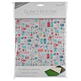 4-in-1 Quilter's Multi Mat. Cutting Mat, Ironing Board, Anti Skid Sheet & Pattern Marking Sheet - Stitch in Time