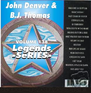 B.J. Thomas & John Denver 17 Song Karaoke CD+G Legends #138