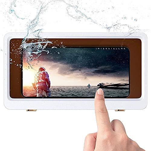 Porta cellulare impermeabile per bagno,custodia per cellulare impermeabile e anti-appannamento per riprodurre telefoni cellulari / guardare film in bagno