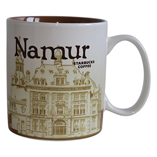 Starbucks City Mug Namur Global Icon Serie Tasse Belgien Kaffee Pott 16 oz/473ml