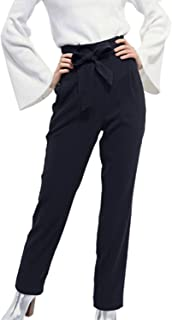 Hybrid & Company Womens Super Comfy Millennium Twill Pants with Pockets