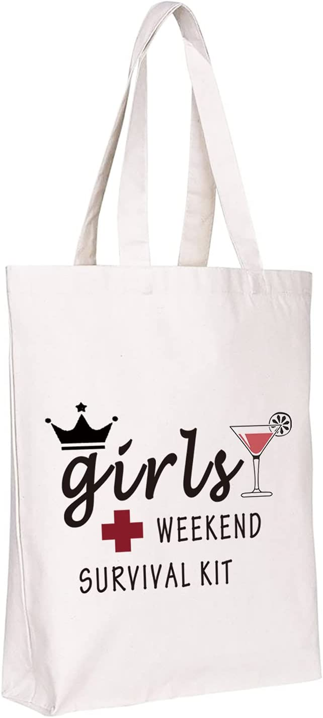 WCGXKO Girls Weekend Survival Kit SALENEW Selling and selling very popular Zipper Girl's Pouch Makeup Bag