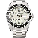 Orient Uhr FEM75005R9 Ray Deep Taucher Herren Silber