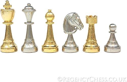los clientes primero ITALFAMA El Messina oro y y y plata Chapado Italiano Piezas de ajedrez  Con precio barato para obtener la mejor marca.