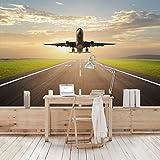 apalis–Papel pintado papel pintado fotográfico de despegue de avión de ancho,...