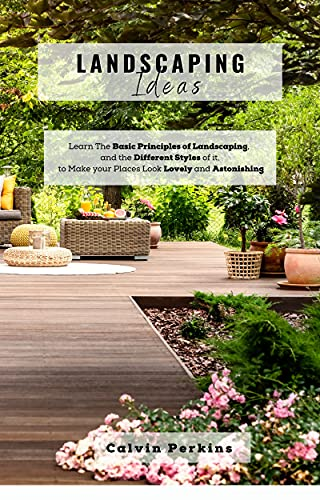 LANDSCAPING IDEAS: Learn The Basic Principles of Landscaping, and the Different Styles of it, to Make your Places Look Lovely and Astonishing