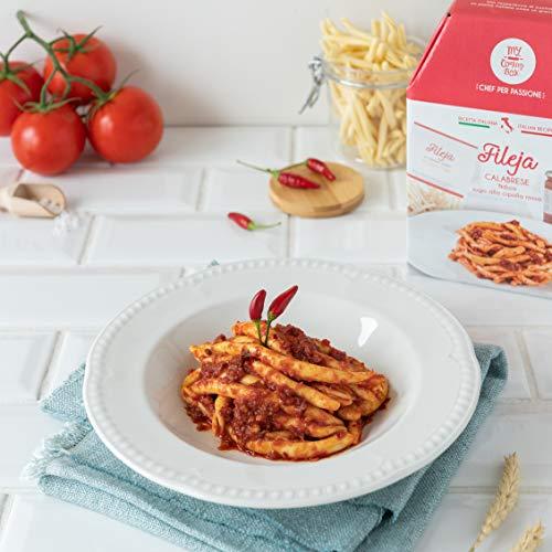 FILEJA CALABRESE My Cooking Box x2 Porzioni - Per una serata tra amici, una cena romantica o come idea regalo originale!
