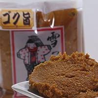 [手作り味噌]雪っ子 味噌 ひとり娘 4kg(箱詰め)(昔ながらの本格みそ)