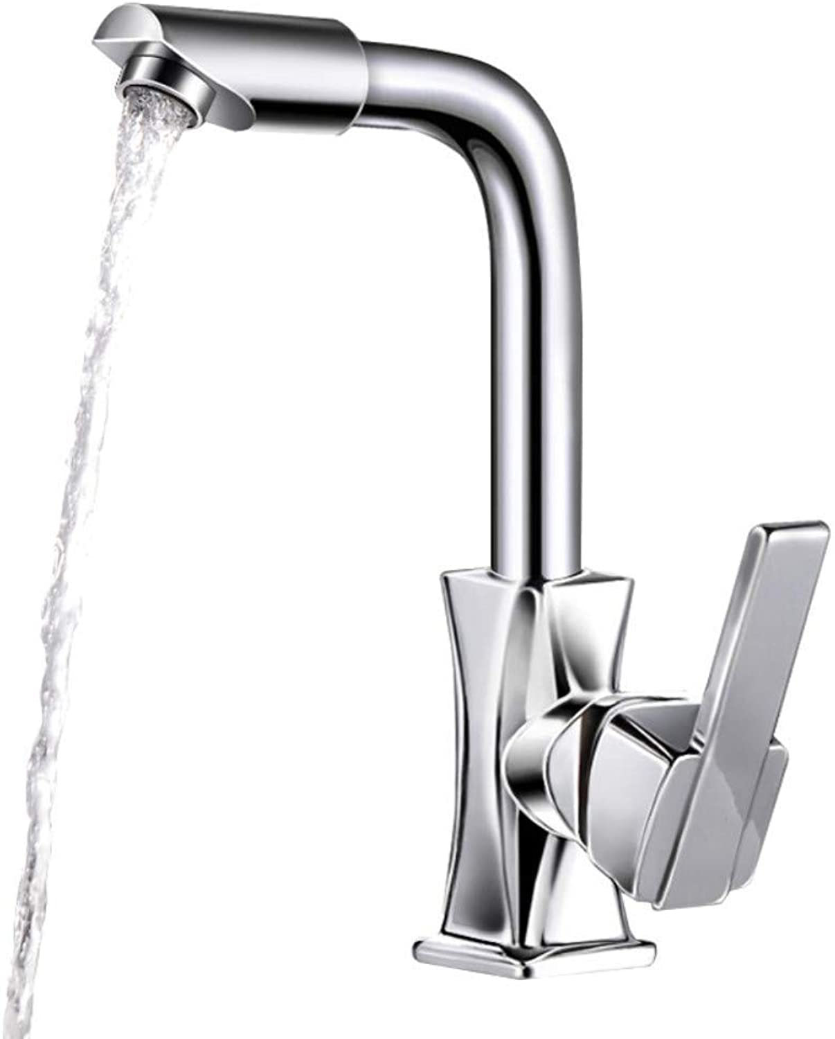 Water Tap Faucet Hot and Cold Basin Basin Washbasin Faucet Kitchen Sink Copper Lead-Free redatable Faucet
