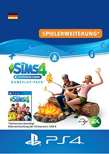 Die Sims 4 - Outdoor Leben (GP 1) [PS4 Download Code - deutsches Konto]