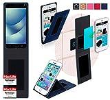 Hülle für Asus Zenfone 4 Pro Tasche Cover Hülle Bumper | Blau | Testsieger
