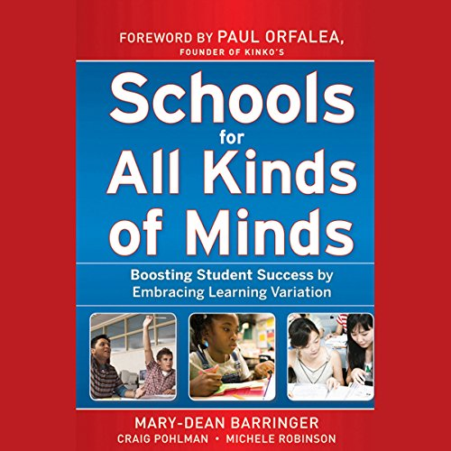 Schools for All Kinds of Minds audiobook cover art