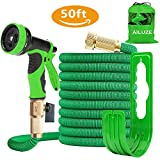 50ft Garden Hose - All New Expandable Garden Water Hose Pipe with Double