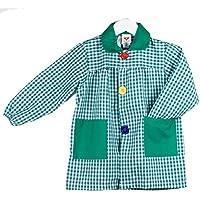 KLOTTZ - BABI CUADROS GUARDERIA Niñas color: VERDE talla: 3