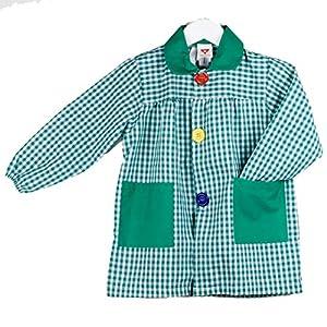KLOTTZ - BABI CUADROS GUARDERIA Niñas color: VERDE talla: 4