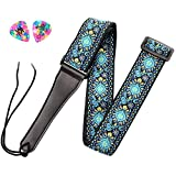 ADM Guitar Strap for Bass, Acoustic, Classical & Electric Guitar with...