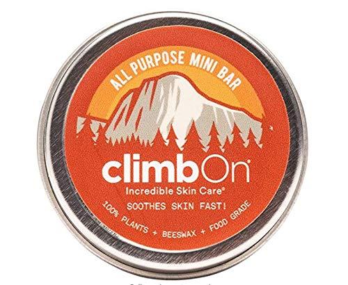 Climb On! Mini Bar 0.5 Oz (14g) - Natürliche Und Antibakterielle Handcreme Aus Rein Pflanzlichen Inhaltsstoffen
