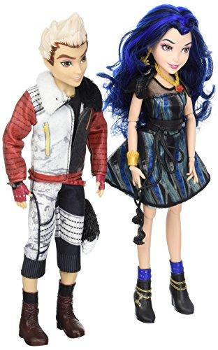 Disney Descendientes, 2Unidades de la Isla de los Perdidos y Carlos Evie de la Lost muñecas