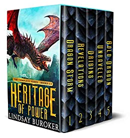 Heritage of Power (The Complete Series: Books 1-5): An epic dragon fantasy boxed set by [Lindsay Buroker]
