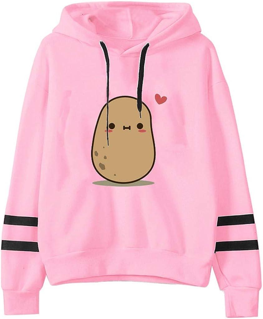 F_Gotal Hoodies Cute Cartoon Discount mail order National uniform free shipping Printed Stripe Sweatshirts Sle Long