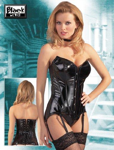 Black Level 28402001050 Lack Corsage schwarz XL, 1er Pack (1 x 1 Stück)